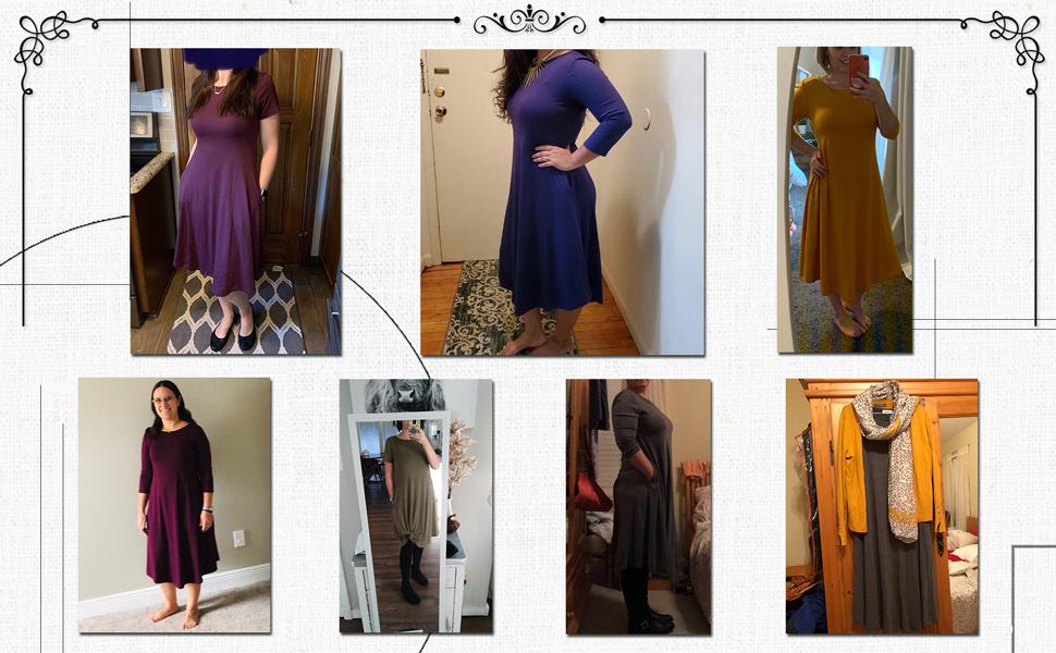 buyers show loose dress