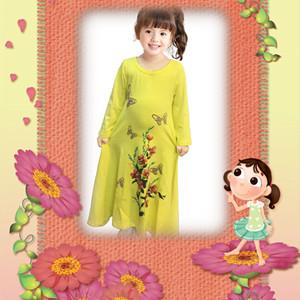 Girls Floral printed dress
