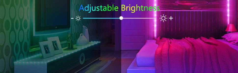 tape lights neon lights for bedroom