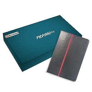Gyönyörű ép ajándék doboz Simbans PicassoTab díszdoboz.