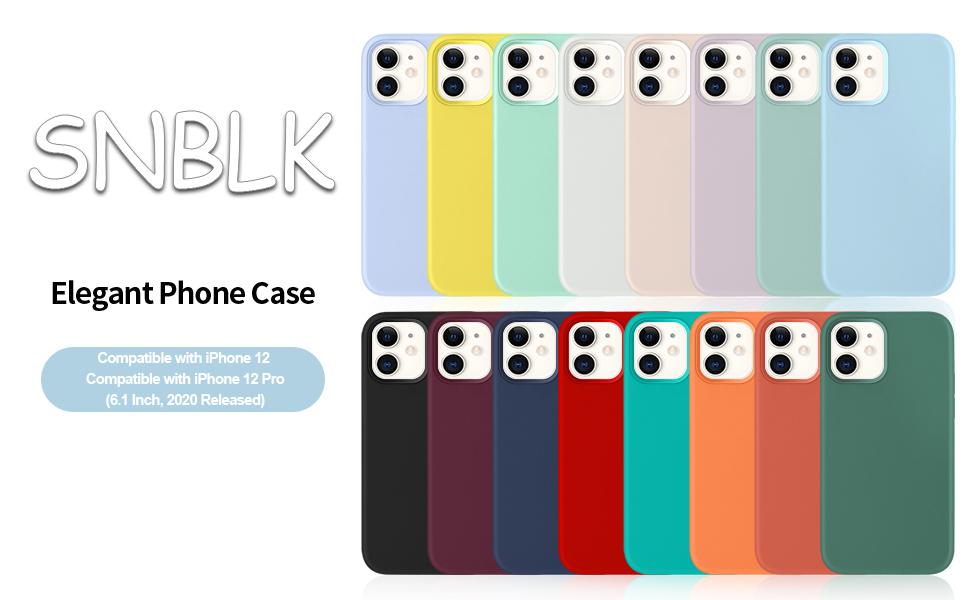 iPhone 12 case liquid silicone