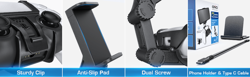 playstation 5 controller phone mount