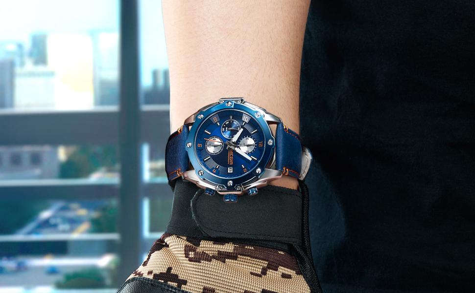 megir watches for men