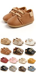 RVROVIC Baby PU Leather Sneakers