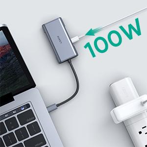 USB-C Pass-Through Charging