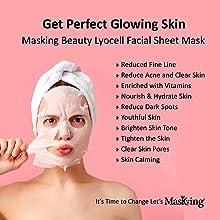 Facial sheet Mask, Beauty Facial sheet Mask, Masking Sheet Mask