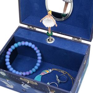 ballerina jewelry charm pendant bracelet stainless steel