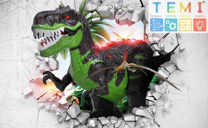 Remote Control RC Robot Rex Dinosaur Dragon Toys