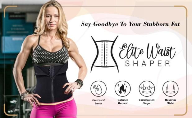 waist shaper shapewear body weight loss calorie fat burn sweat hourglass figure tummy corset trainer