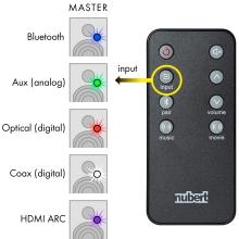 Nubert nuBox A-125 Eingangswahl