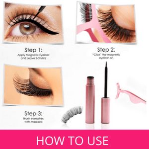 . Shake the Eyeliner and Apply a thin layer and leave on for 2-3 minutes for it to dry