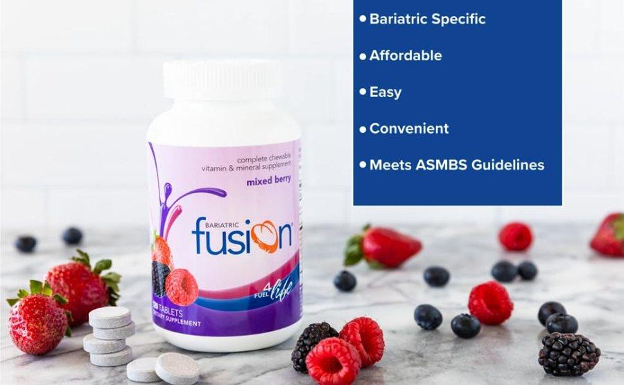 Mixberry de fusão bariátrica vitamina bariátrica mastigável completa