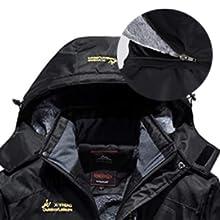 Mountain Waterproof Ski Jacket Windproof Rain Jacket Hoodie