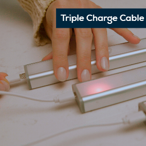 triple charge cable
