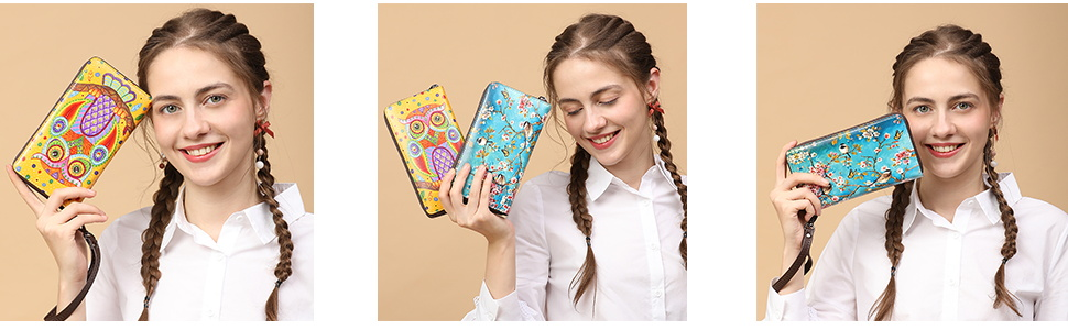 aphison womens wallet