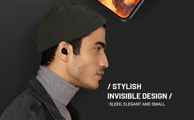 secure fit true wireless bluetooth earbuds earphones bass mobile handsfree stylish latest 2019 2020