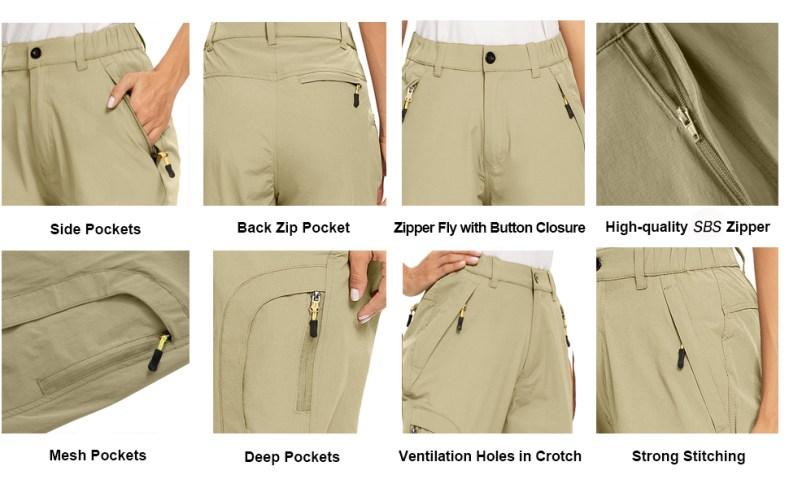 women hiking pants capri pants for women