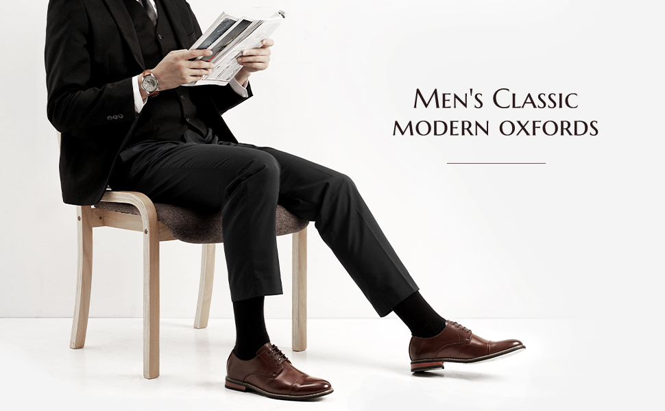 oxford lace-ups featuring decorative perforation for vintage appeal