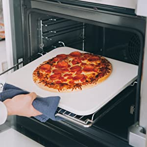 Pizza stone for bbq and oven