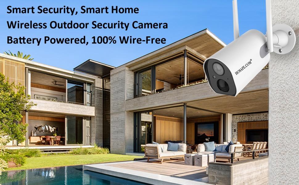 WiFi Camera, Outdoor Security Camera, Wireless Security Camera, Home Security Camera