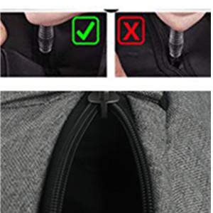 Dual layer zipper