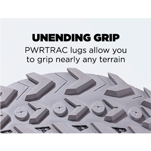 pwrtrac lugs for undending grip