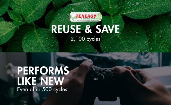 reuse 2100 cycles performs like new after 500 cycles rechargeable AA AAA battery