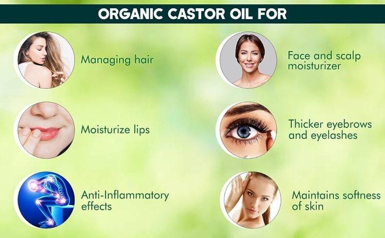 UrbanBotanic Castor Oil for Hair Growth