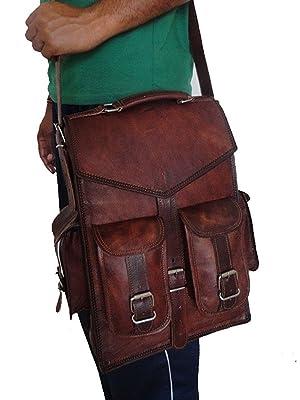 convertible leather briefcase men