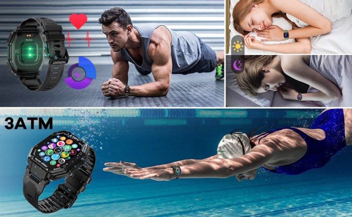 fitness tracker,smart watch for android phones,activity tracking,samsung,iphone,heart rate monitor
