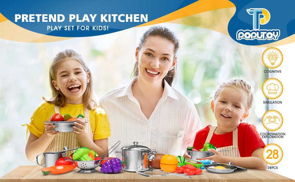 POPUTOY Play kitchen