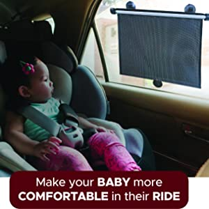 Baby car shade makes your baby more comfortable
