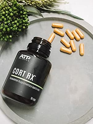 Cort RX Supplement ATP Science Regulates Cortisol Less Stress Sleep Better