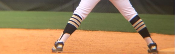 Team Wearing Crazy Stars Softball Socks