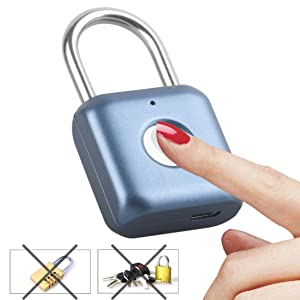 fingerprint padlock  a7