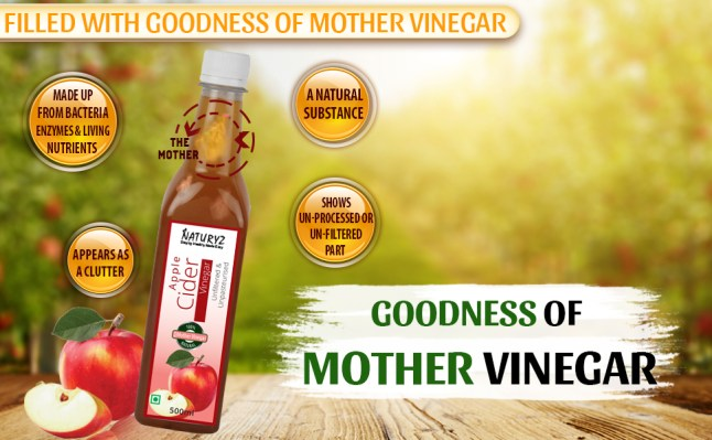 natural apple cider vinegar