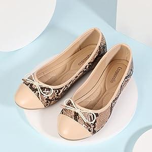 women flats shoes snake