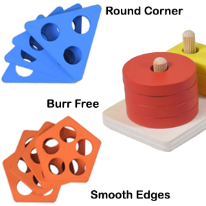 Smooth Edges Safety Care Round Corners No Burr High Quality Durable Joy Fun Play Toys & Games Board