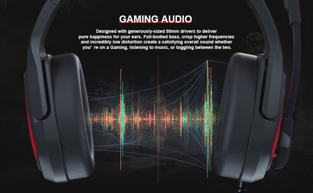 STERO SOUND HEADSET WITH MIC