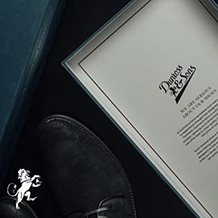 Premium footwear for men by Dunross & Sons exclusively available on Amazon