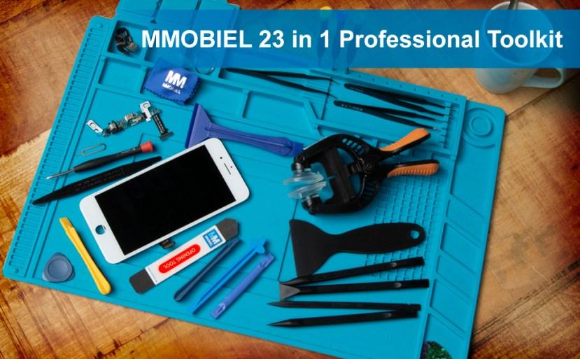 23 in 1 Toolkit, Toolkit, Repair, Smartphone, Tablet, Gaming Consoles, Screwdriver set, MMOBIEL