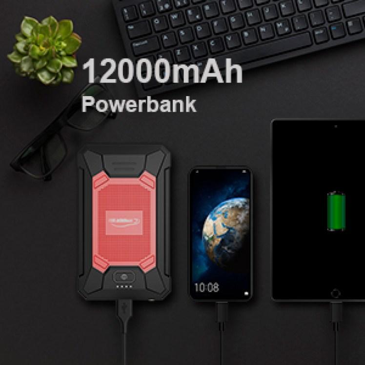 12000 Starthilfe Powerbank