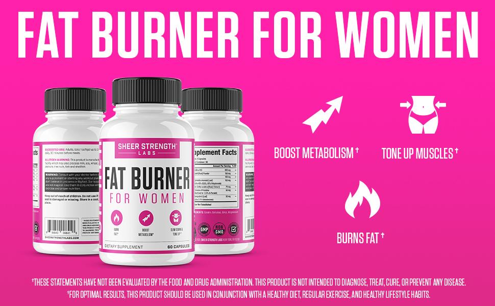 Sheer Fat Burner for Women Main EBC Image