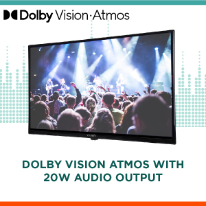 Dolby Vision Atmos with 20W Audio Output