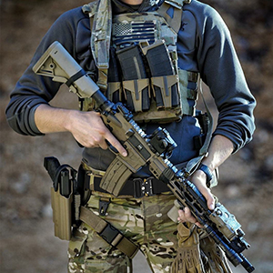 Tactical Duty Belt for Military