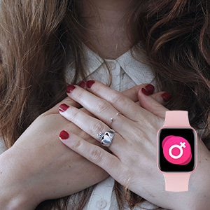 Smart Watch for Women Safety Period Tracking Physiological Period Tracker