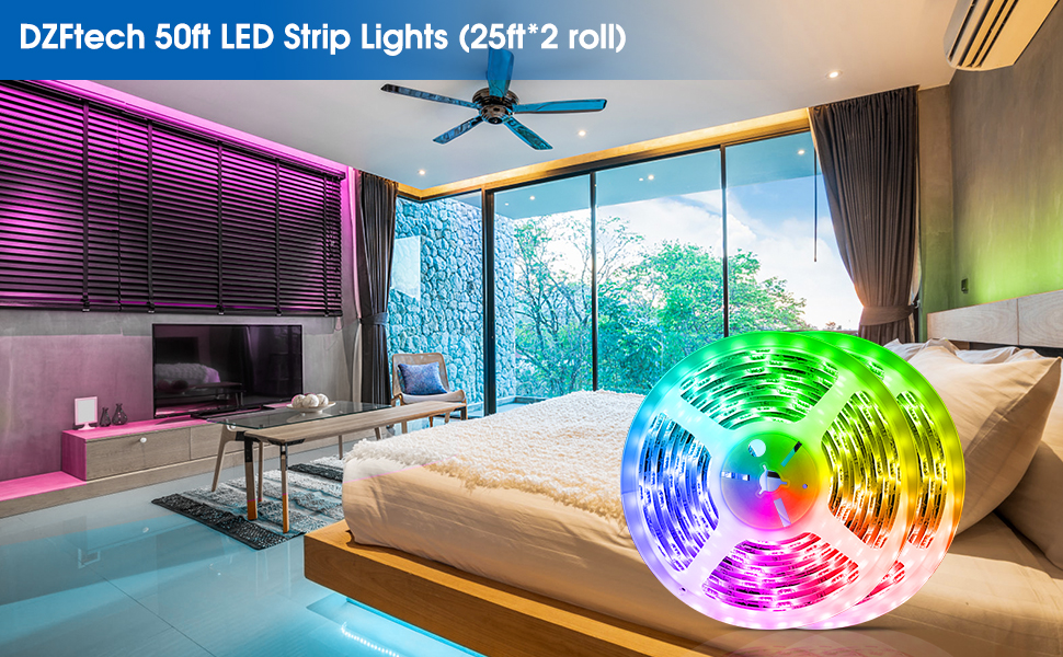DZFtech LED Strip Lights