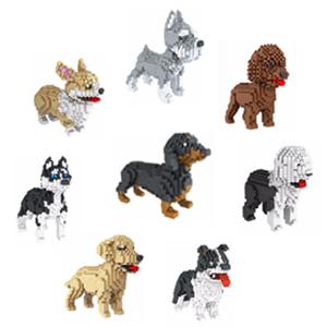 mini dog building blocks