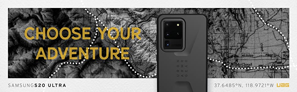 URBAN ARMOR GEAR UAG SAMSUNG GALAXY S20 ULTRA CIVILIAN SERIES