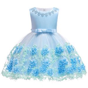 blue baby girl dress